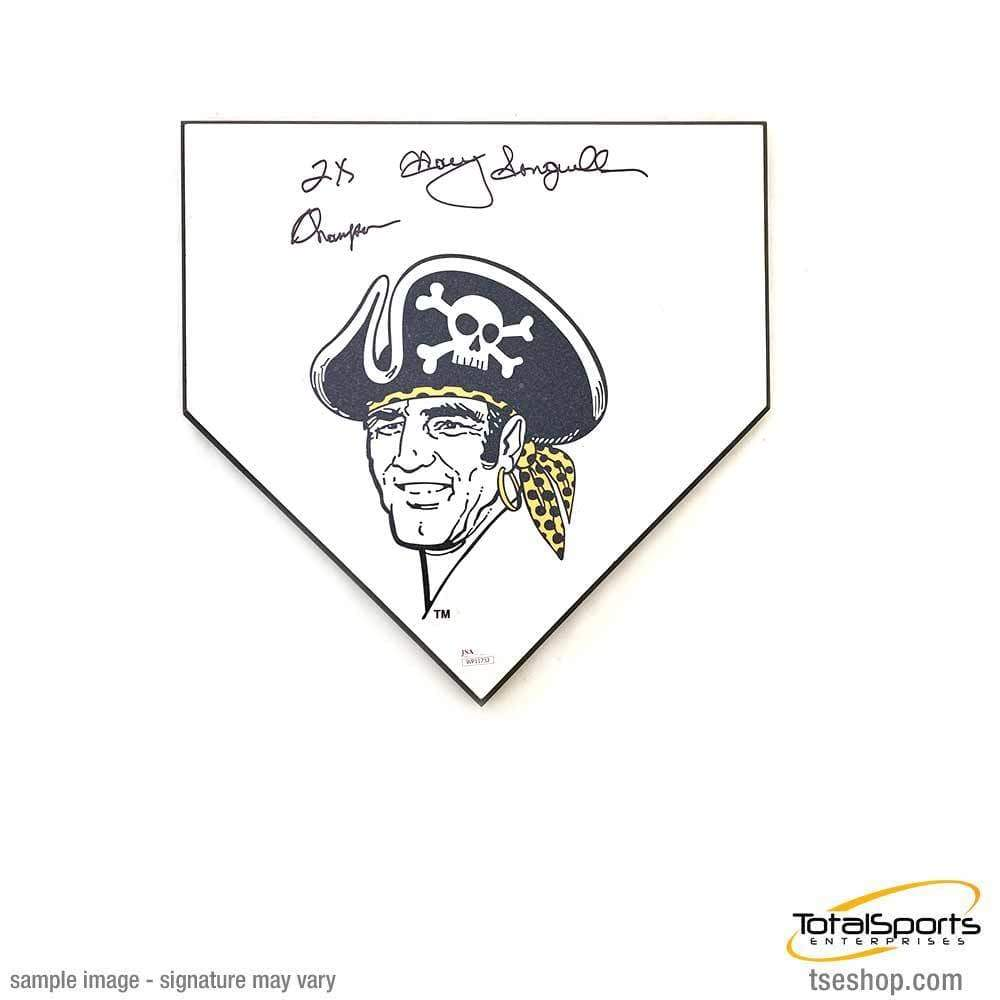 Surprising Manny Sanguillen Buccaneer Home Plate Signed And Inscribed 2X Champs Download Free Architecture Designs Rallybritishbridgeorg