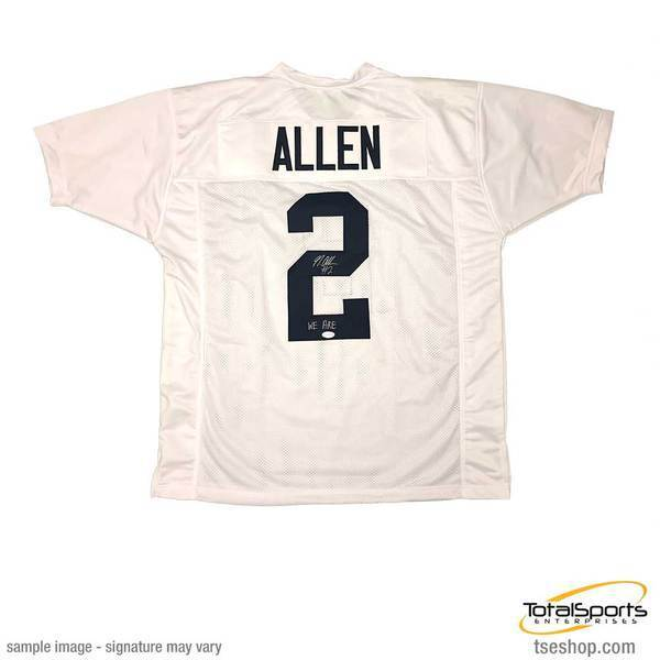 Marcus Allen Signed Custom White College Jersey with We Are