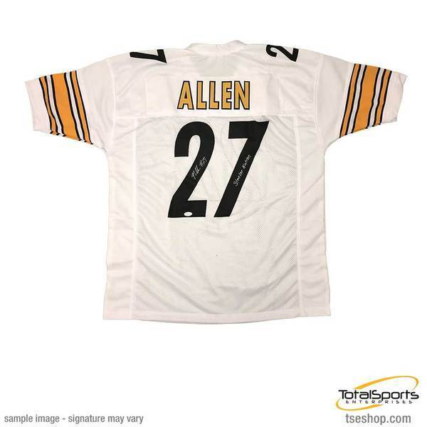 Marcus Allen Signed Custom White Football Jersey with Steeler Nation