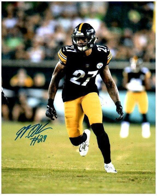 Signed STEELERS Photos Marcus Allen Signed Running in Black 8x10 Photo
