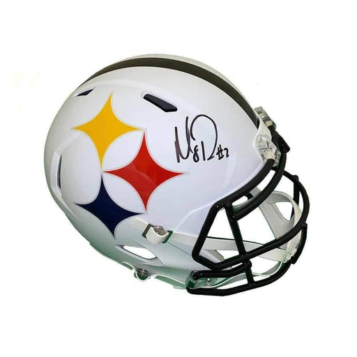 Mason Rudolph Signed Pittsburgh Steelers AMP Full Size Replica Helmet
