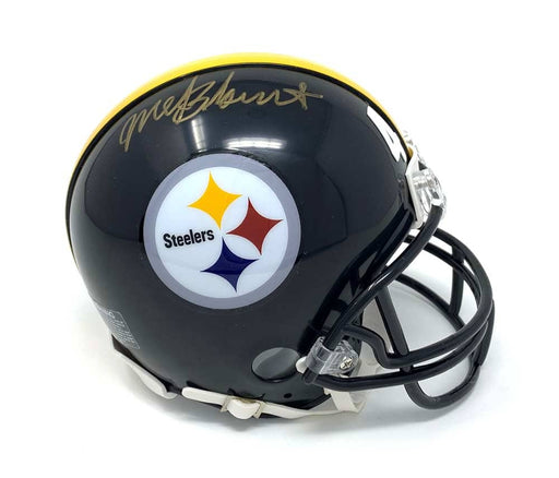 Mel Blount Autographed Steelers Black Mini Helmet