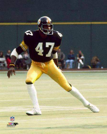 Mel Blount Leaning Right Unsigned Licensed 16x20 Photo