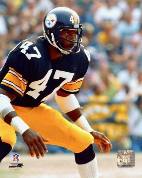 "Fan Photos STEELERS Mel Blount Unsigned ""Ready"" 8x10 Photo"