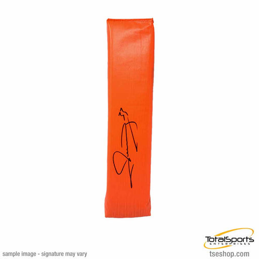 Merril Hoge Signed Replica End Zone Pylon