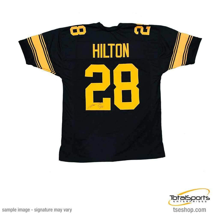 Mike Hilton Signed #28 Custom Alternate Football Jersey
