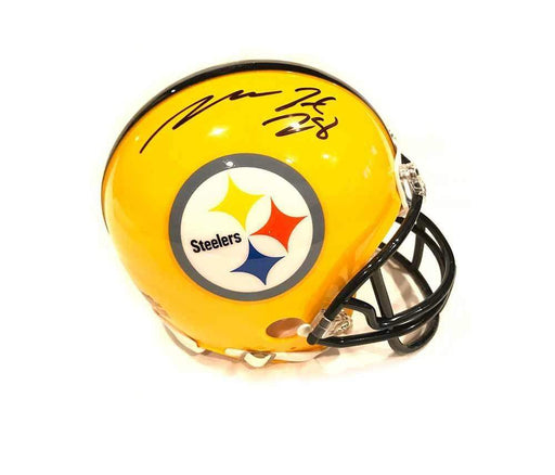 Mike Hilton Signed #28 Pittsburgh Steelers 75th Anniversary Mini Helmet