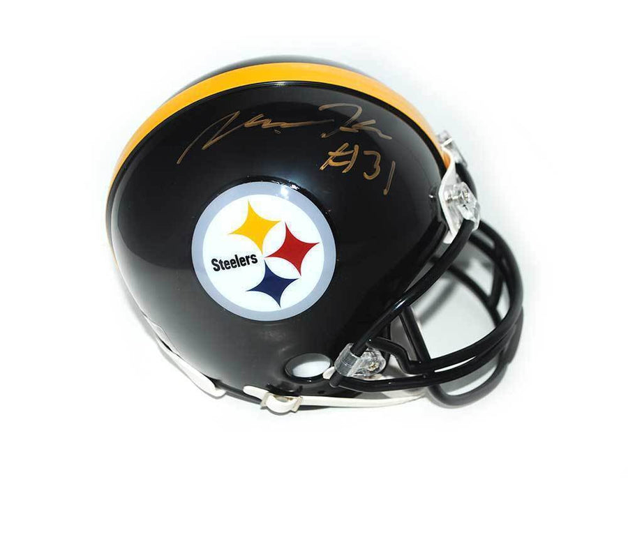 Mike Hilton Signed Pittsburgh Steelers Logo Mini Helmet