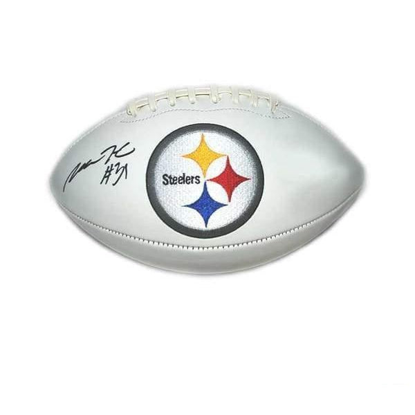Mike Hilton Signed Pittsburgh Steelers White Logo Football