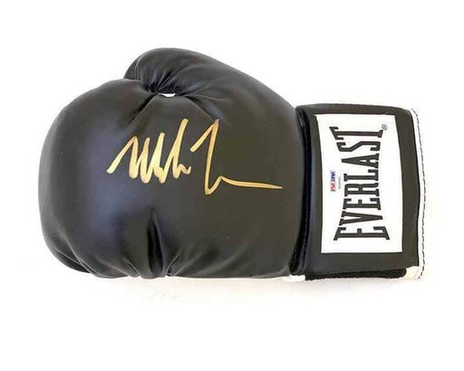 Mike Tyson Signed Boxing Glove (Black)
