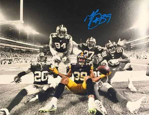 Minkah Fitzpatrick Autographed Spotlight Celebration 8x10 Photo