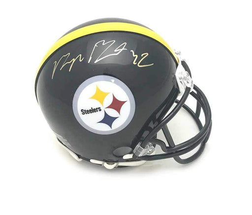 Signed STEELERS Mini Helmets Morgan Burnett Signed Pittsburgh Steelers Black Mini Helmet