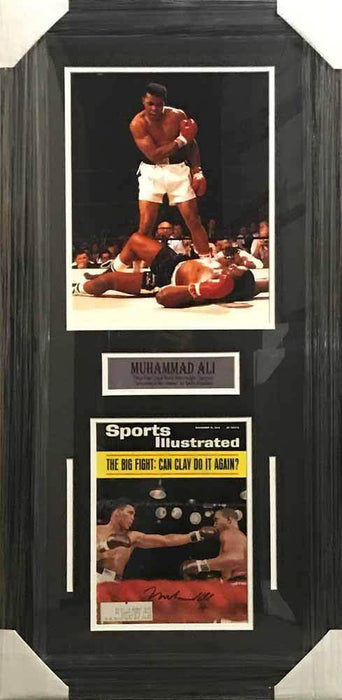 Muhammad Ali Autographed Authentic Sports Illustrated - Professionally Framed