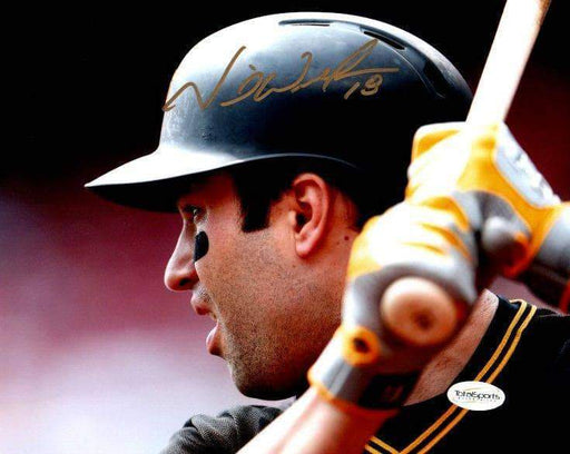 Neil Walker Signed Close Up at Bat 8x10 Photo