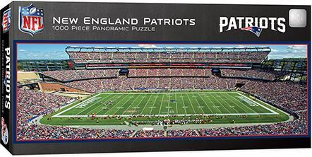 New England Patriots 1000pc Pano Puzzle