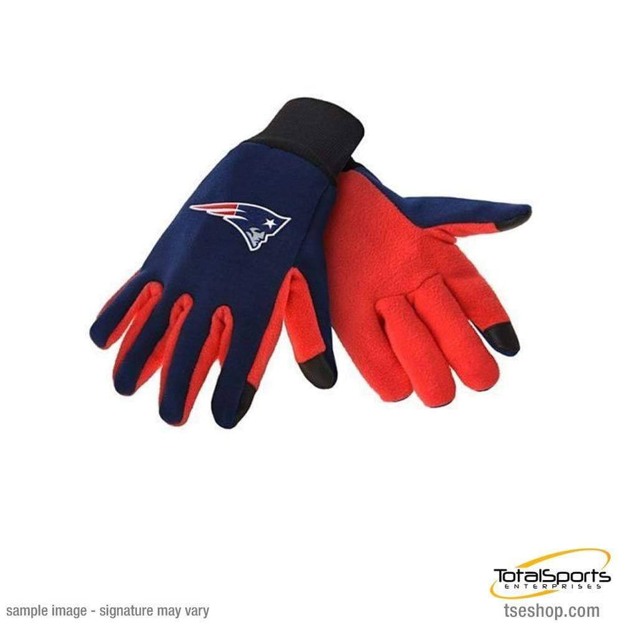 Fan Apparel Souvenirs Football NFL New England Patriots Texting Gloves