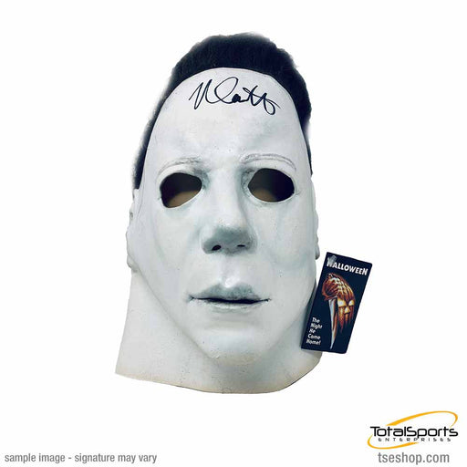 Nick Castle (Michael Myers) Signed Halloween Mask