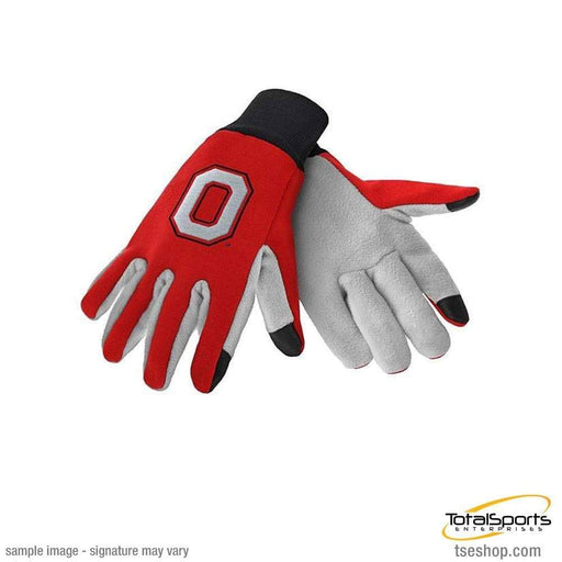 Fan Souvenirs OHIO STATE Ohio State Buckeyes Texting Gloves