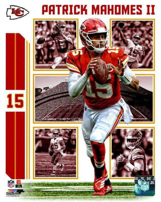Patrick Mahomes Collage Unsigned  8x10 Photo