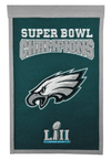 Philadelphia Eagles Super Bowl LII Champions Banner