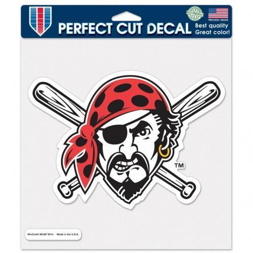 Pirates Perfect Cut 8x8 Jolly Roger Decal