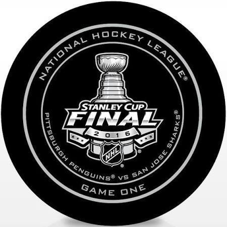 Pittsburgh Penguins Stanley Cup Puck - Game 1