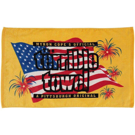 "Pittsburgh Steelers 25.25"" x 15"" Patriotic Terrible Towel"