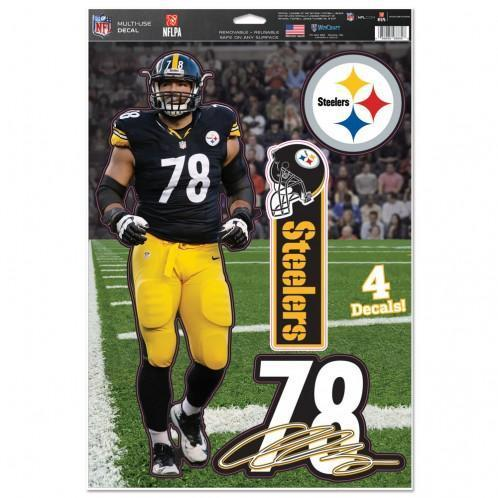 buy online 0231e ee8fa Pittsburgh Steelers Multi-Use Decal 11