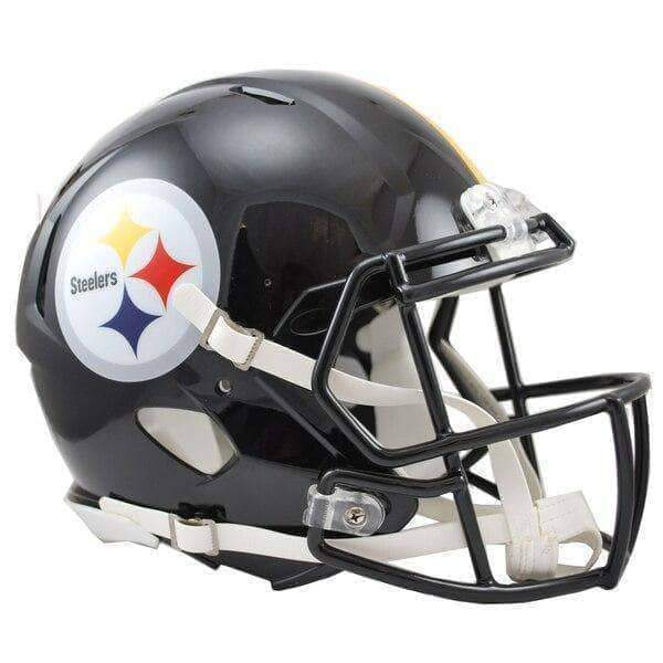 PRE-SALE: Aaron Smith Signed Pittsburgh Steelers Replica SPEED Full Size Helmet