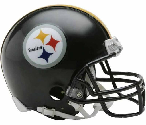 Pre-Sale: Alan Faneca Signed Pittsburgh Steelers Black Mini Helmet