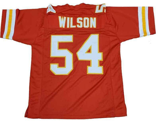 PRE-SALE: Damien Wilson Signed Custom Red Football Jersey