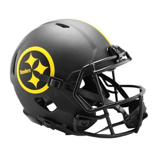 PRE-SALE: Devin Bush Signed Pittsburgh Steelers ECLIPSE SPEED Mini Helmet