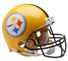 Pre-Sale PRE-SALE: Donnie Shell Signed Pittsburgh Steelers 75th Anniversary Full Size Replica Helmet