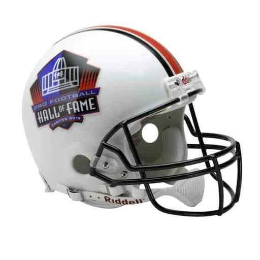 PRE-SALE: Donnie Shell Signed White Hall of Fame Full Size Replica Helmet with All New HOF 2020 Inscription