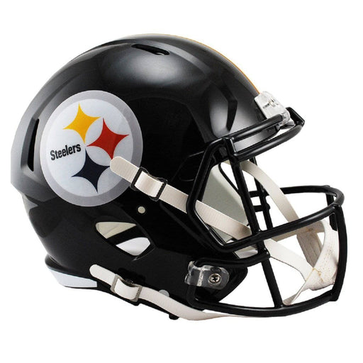 PRE-SALE: James Washington Signed Pittsburgh Steelers Black Full Size SPEED Replica Helmet