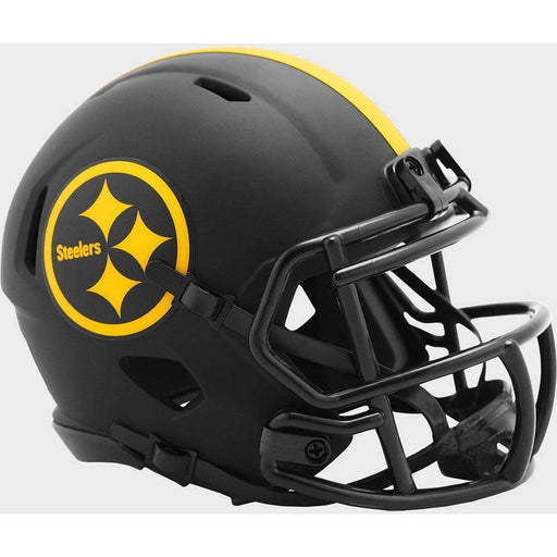 PRE-SALE: Juju Smith-Schuster Signed Pittsburgh Steelers Eclipse SPEED Mini Helmet