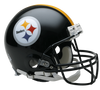 PRE-SALE: Justin Layne and Steven Nelson Signed Pittsburgh Steelers Black Authentic Helmet