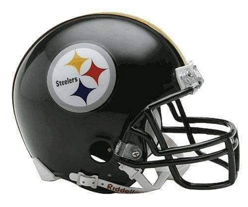 PRE-SALE: Larry Foote Signed Pittsburgh Steelers Black Mini Helmet