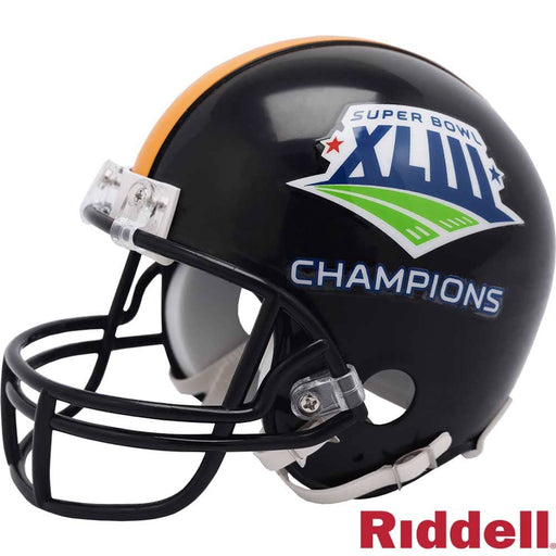 Pre-Sale: Marvel Smith Signed Pittsburgh SB XLIII Mini Helmet