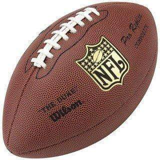 PRE-SALE: Merrill Hoge Signed Wilson Replica Football