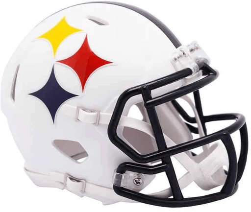 PRE-SALE: Plaxico Burress Signed Pittsburgh Steelers AMP Mini Helmet