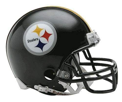 PRE-SALE: Rocky Bleier Signed Pittsburgh Steelers Black Mini Helmet Default Title