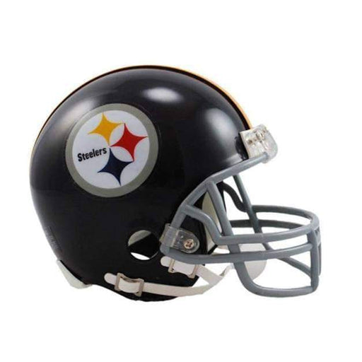 PRE-SALE: Rocky Bleier Signed Pittsburgh Steelers Throwback Mini Helmet