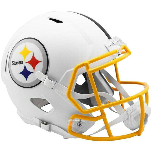 PRE-SALE: Ryan Shazier Signed Pittsburgh Steelers WHITE MATTE Full Size Replica Helmet