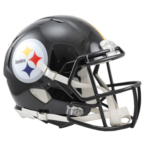 Pre-Sale: SB XL O-Line (5 Guys) Multi-Signed Pittsburgh Steelers Replica Full Size Speed Helmet