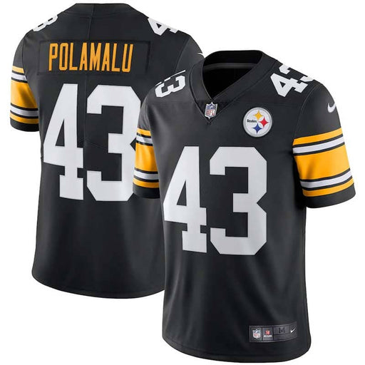 Pre-Sale: Troy Polamalu Pittsburgh Steelers Nike Retired Player Limited Alternate Jersey – Black