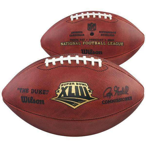 PRE-SALE: Troy Polamalu Signed Authentic Super Bowl 43 Authentic Football