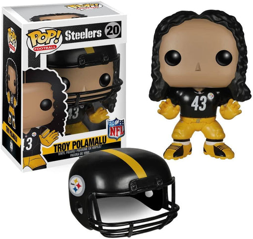 Pre-Sale: Troy Polamalu Signed Funko Pop