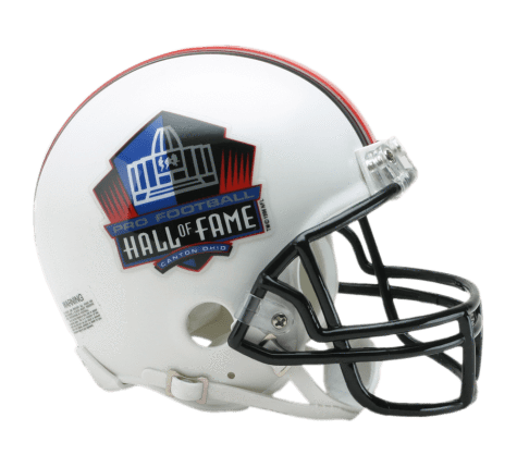 PRE-SALE: Troy Polamalu Signed Hall of Fame White Mini Helmet
