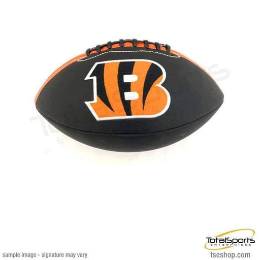 PRE-SALE: Tyler Boyd Signed Bengals Black Logo Football